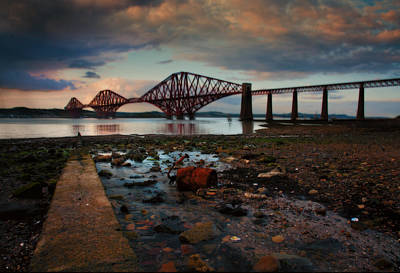 Photograph - Forth Rail Bridge by Jean-Noel Nicolas