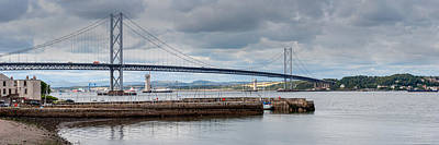 Photograph - Forth Road Bridge by Gary Eason