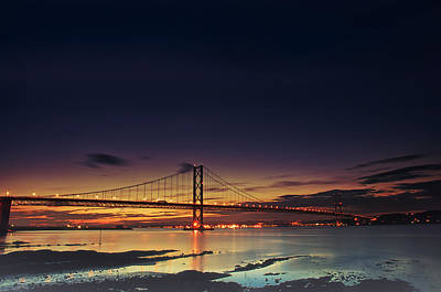 Photograph - Forth Road Bridge by Jean-Noel Nicolas