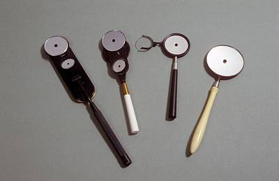 1860s Photograph - Four Ophthalmoscopes by Science Photo Library