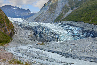 Photograph - Fox Glacier by Alexey Stiop