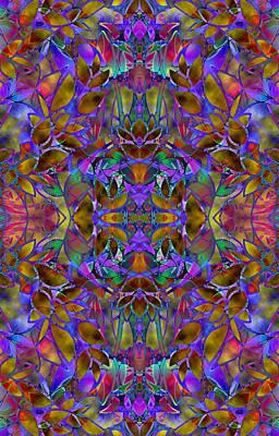Fractal Floral Abstract Original