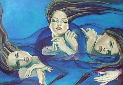 Fragments Of Longing  Print by Dorina  Costras