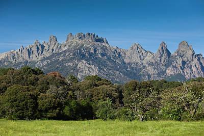 France, Corsica, La Alta Rocca, Quenza Print by Walter Bibikow