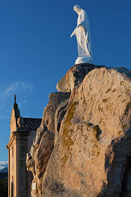 Serra Photograph - France, Corsica, La Balagne, Calvi by Walter Bibikow