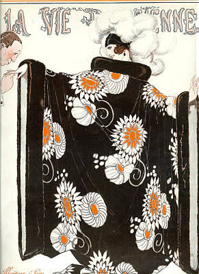 France La Vie Parisienne Magazine Cover Art Print by The Advertising Archives