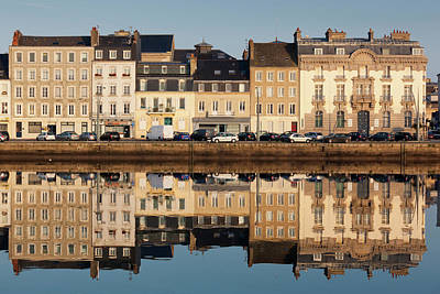 Bassin Photograph - France, Normandy, Cherbourg-octeville by Walter Bibikow