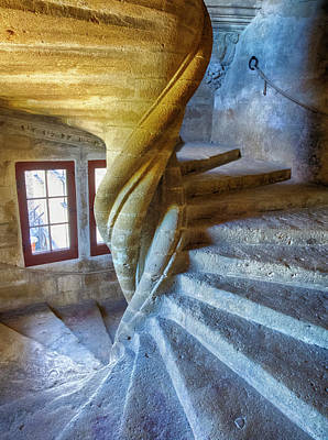 Provence Photograph - France, Provence, Lourmarin, Spiral by Terry Eggers