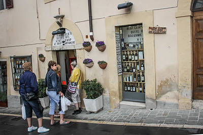 Photograph - Francescos Shop In Assisi - May 30 by Dwight Theall