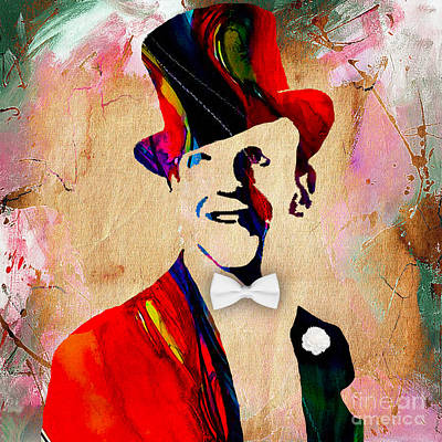 Fred Astaire Collection Print by Marvin Blaine