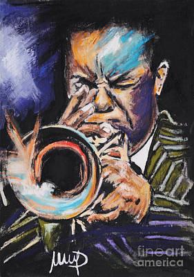 Trumpet Mixed Media - Freddie Hubbard by Melanie D
