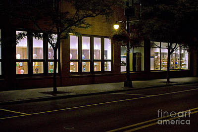 Art Print featuring the photograph Frederick Carter Storefront 2 by Tom Doud