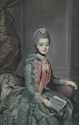 Frederika Sophia Wilhelmina, 1751-1820, Princes Of Prussia Art Print by Litz Collection