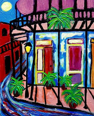 Painting - French Quarter by Ted Hebbler