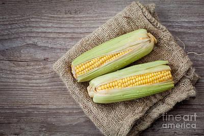 Mais Photograph - Fresh Corn by Sabino Parente