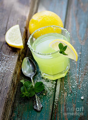 Fresh Lemonade Art Print by Mythja  Photography
