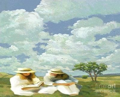 Painting - Friendship by Belinda Threeths