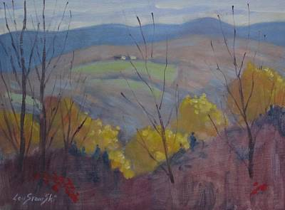 Painting - From The Glen by Len Stomski