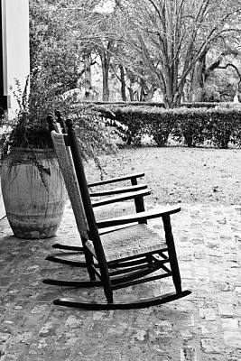Rocking Chairs Photograph - Front Porch Rockers by Scott Pellegrin