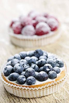 Photograph - Fruit Tarts by Elena Elisseeva