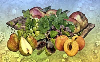 Fruits Art Print by Manfred Lutzius