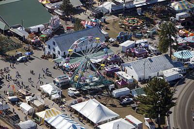 Fryeburg Fair, Maine Me Art Print by Dave Cleaveland