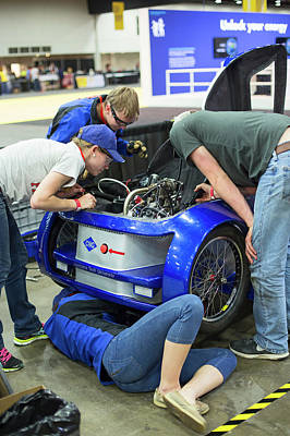 Louisiana State University Photograph - Fuel-efficient Vehicle Competition by Jim West