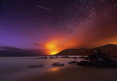 Shooting Photograph - Fuerteventura by Martin Zalba