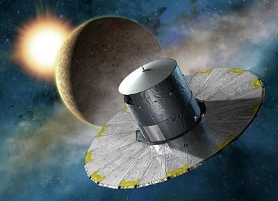 Gaia Space Probe Art Print by D Ducros/european Space Agency