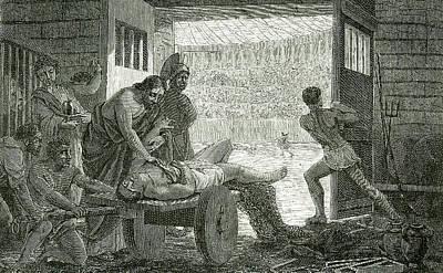 Galen Art Print by Universal History Archive/uig