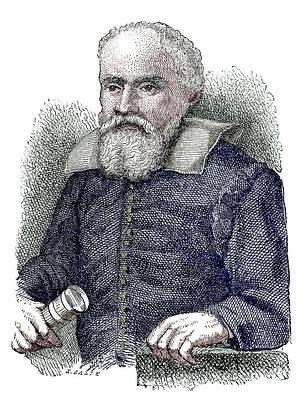 Galileo Galilei Art Print