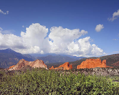 Photograph - Garden Of The Gods by Ann Powell