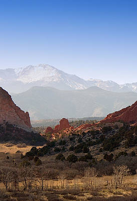 Photograph - Garden Of The Gods by Steve Thompson