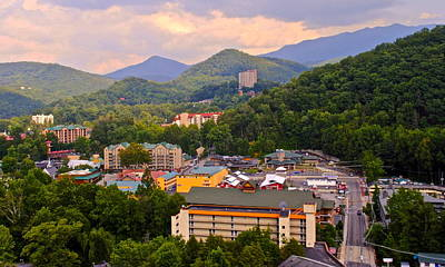 Gatlinburg Tennessee Art Print by Frozen in Time Fine Art Photography