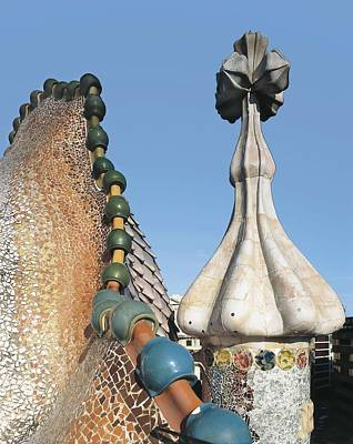 Ceramics Photograph - Gaudi I Cornet, Antoni 1852-1926 by Everett