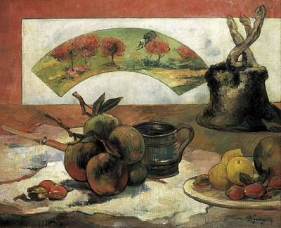 Gauguin, Paul 1848-1903. Still Life Art Print by Everett