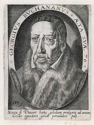 George Buchanan  Scottish Humanist Art Print