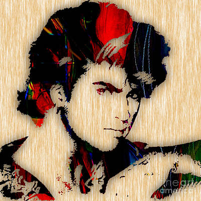 George Michael Collection Art Print by Marvin Blaine