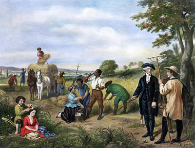 Mount Vernon Painting - George Washington(1732-1799) by Granger