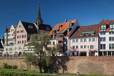 Ulm Photograph - Germany, Baden-wurttemburg, Ulm by Walter Bibikow