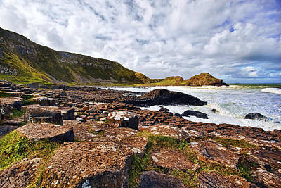 Antrim Photograph - Giants Causeway by Marcia Colelli