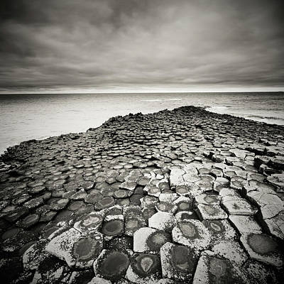 Photograph - Giants Causeway On A Cloudy Day by Mammuth