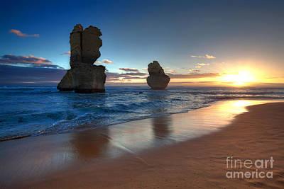 Great Ocean Road Photograph - Gibson Beach by Bill  Robinson
