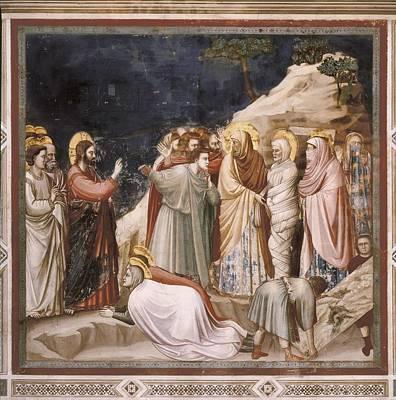 Giotto Di Bondone 1267-1337. Scenes Art Print
