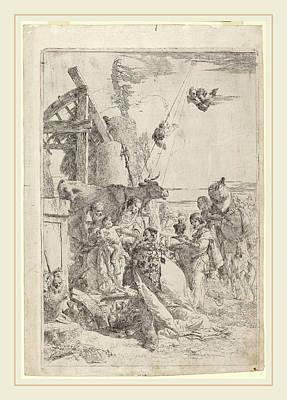 Giovanni Battista Tiepolo Italian, 1696-1770 Art Print