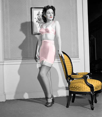 Mellow Yellow - Girdle Girl by Andrew Fare