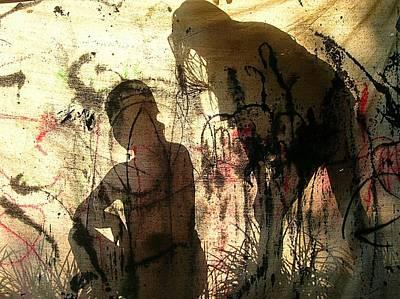 2 Girls Art Print by Dietrich ralph  Katz