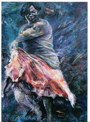 Painting - Gitana by Sylva Zalmanson