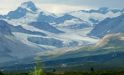 Photograph - Glacier by Lisa Dunn