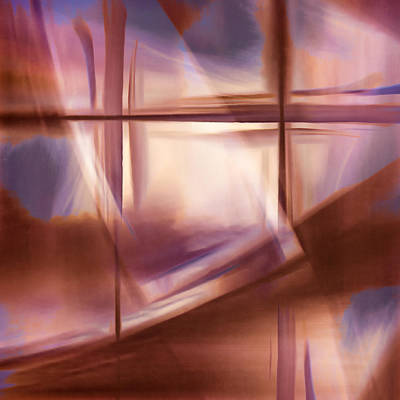 Glass Abstract Print by Carol Leigh